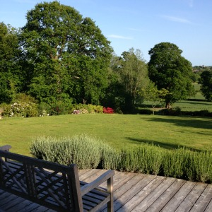 Barnfield House holiday rental rental 2-acre garden