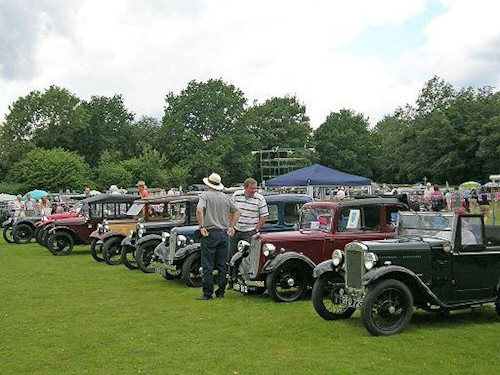 Fathers Day in Kent – Austin Seven Rally at Bewl Water