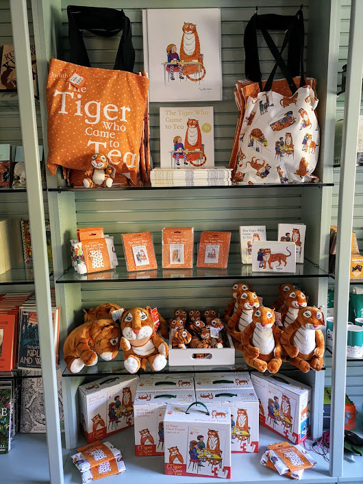 Tiger merchandise in the Batemans shop
