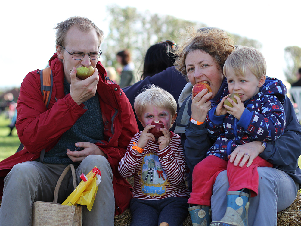 family fun at the National Apple Festival