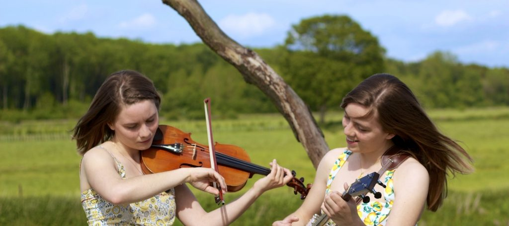 The carrivick sisters bluegrass and  folk singers