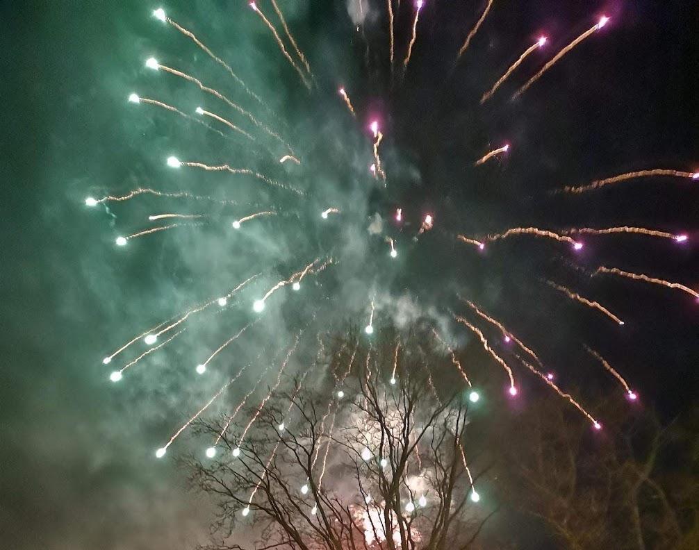 fireworks in Hawkhurst