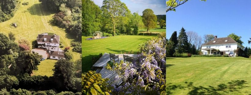 Beautiful Kent garden iand country views