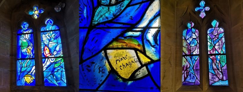 Chagall stained glass windows