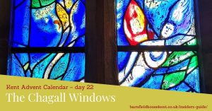 The Chagall windows in Tudeley