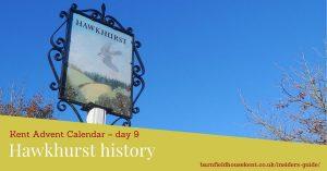 Hawkhurst village sign