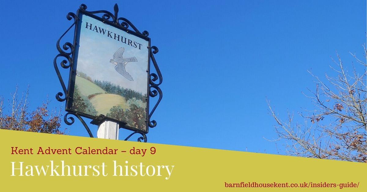 Hawkhurst village sign