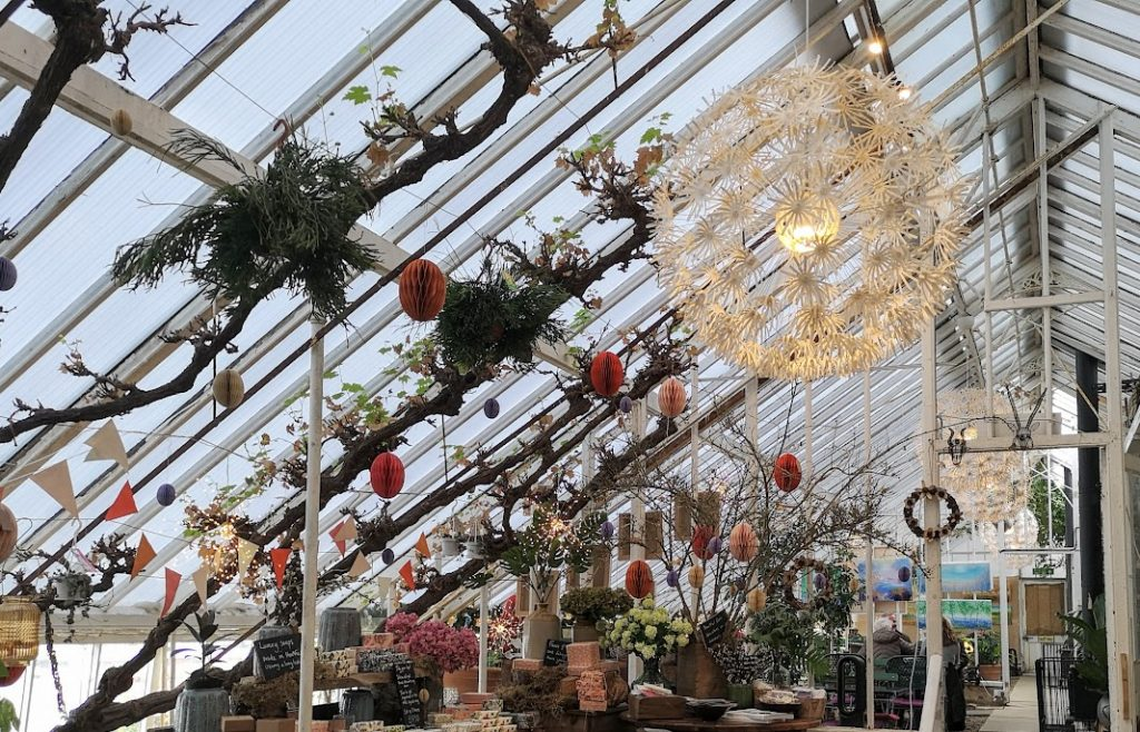Gift shop at the Walled Nursery
