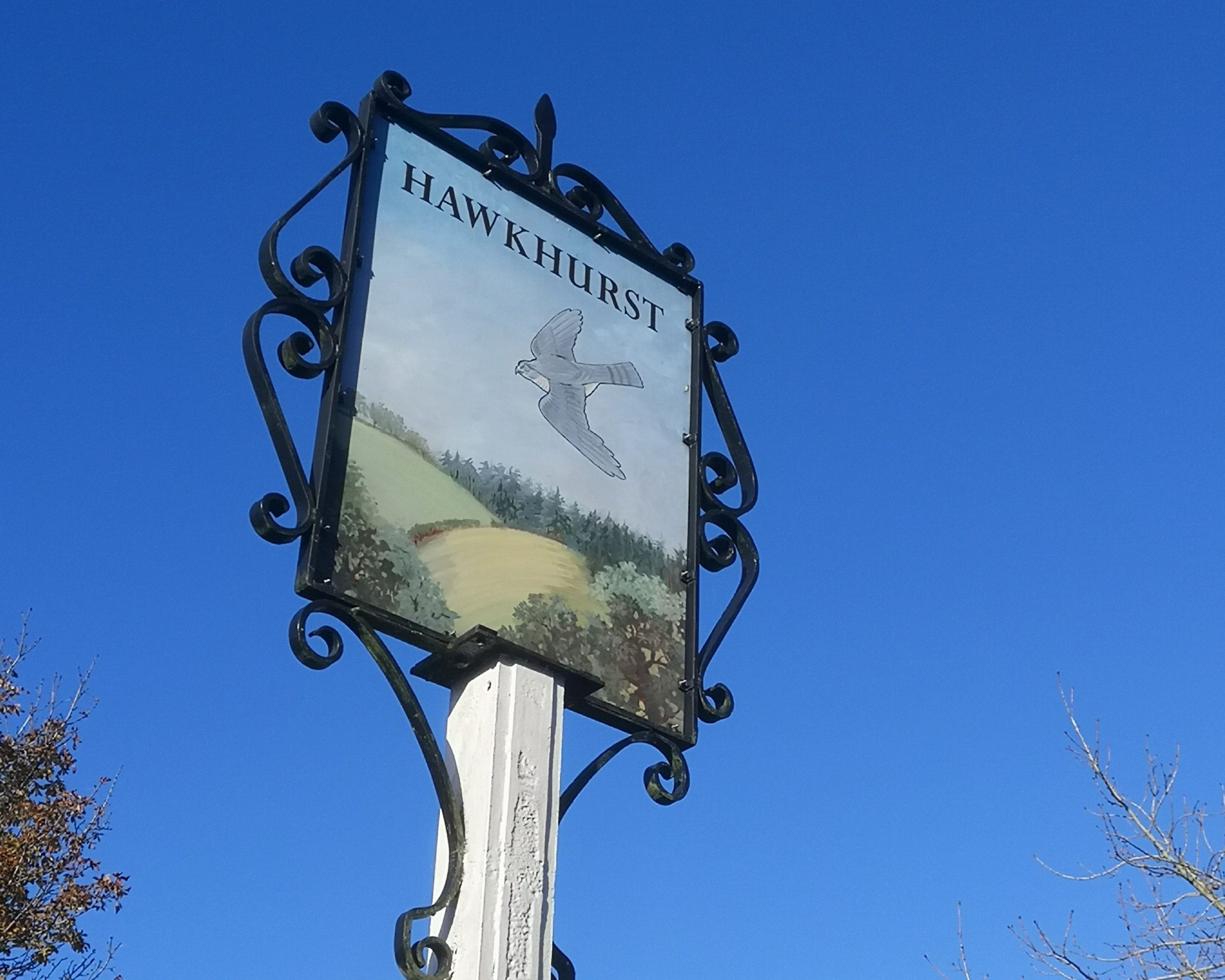 Hawkhurst vilage sign
