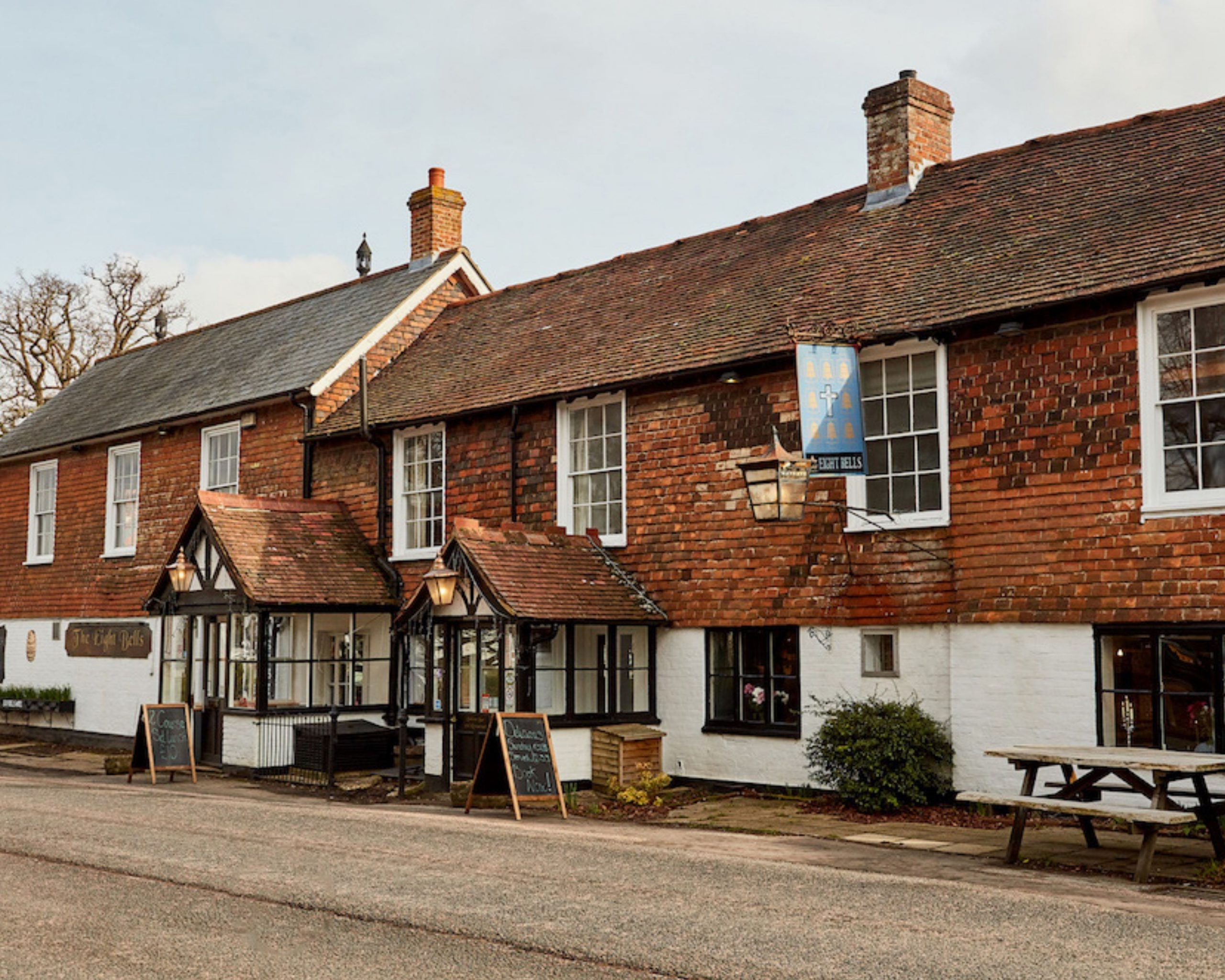 A traditional English pub in Kent