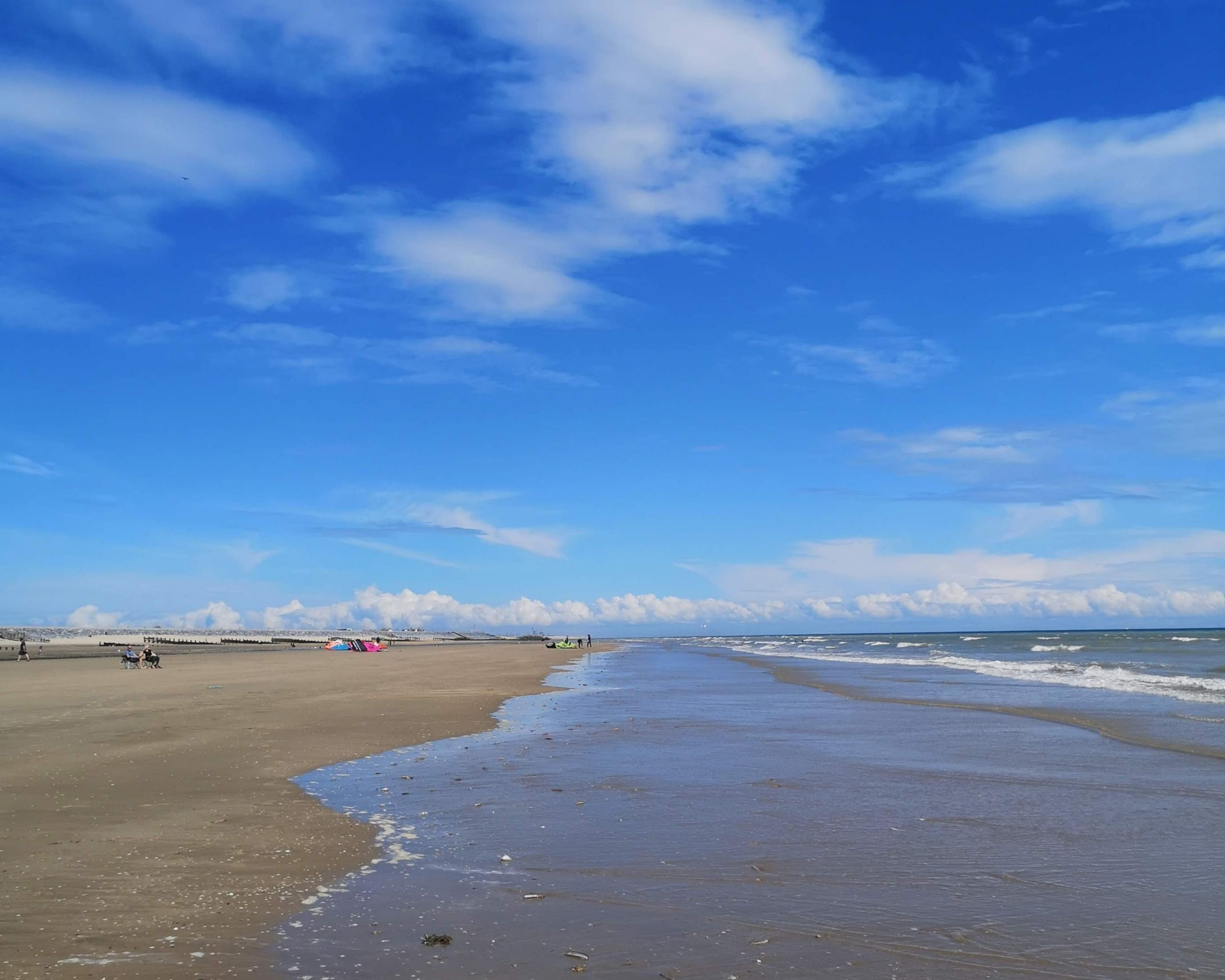 Low tide at Camber Sands