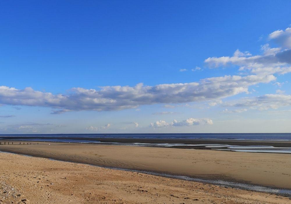 A beach in Kent