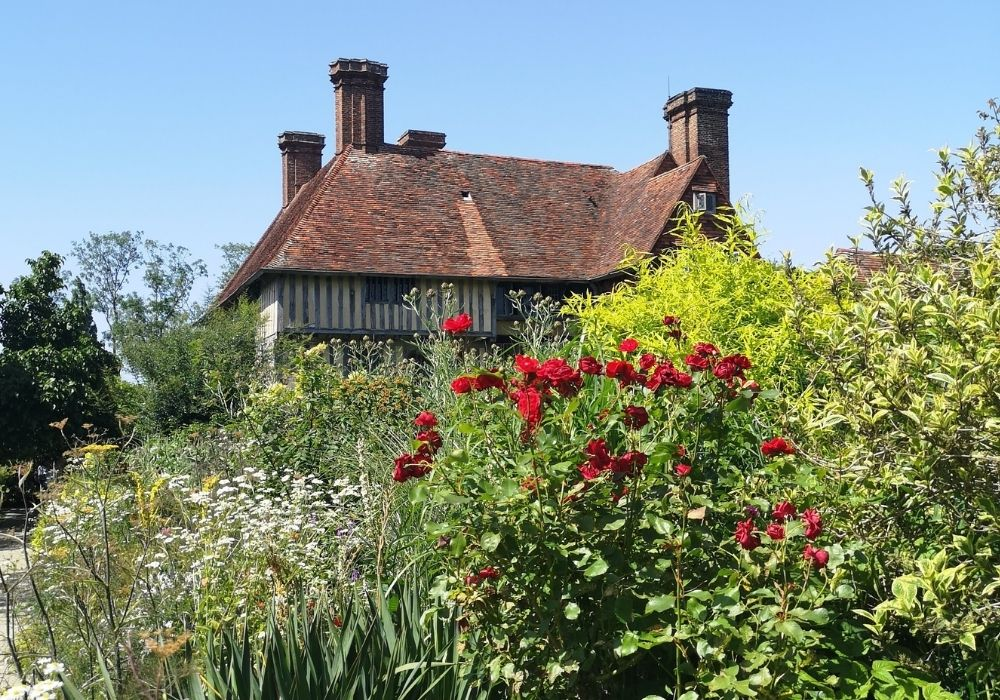 Great Dixter Garden flower beds