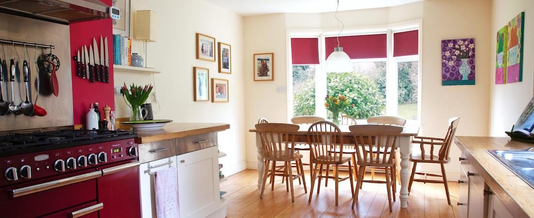 Kitchen at Barnfield House Kent